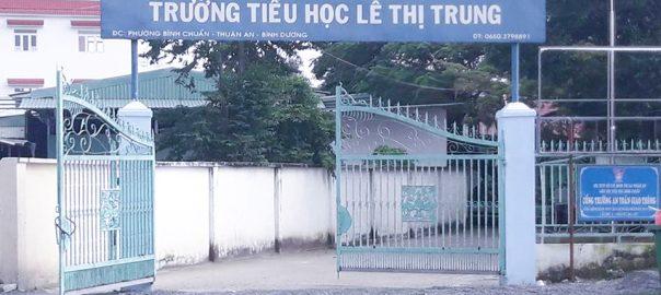 cổng trường